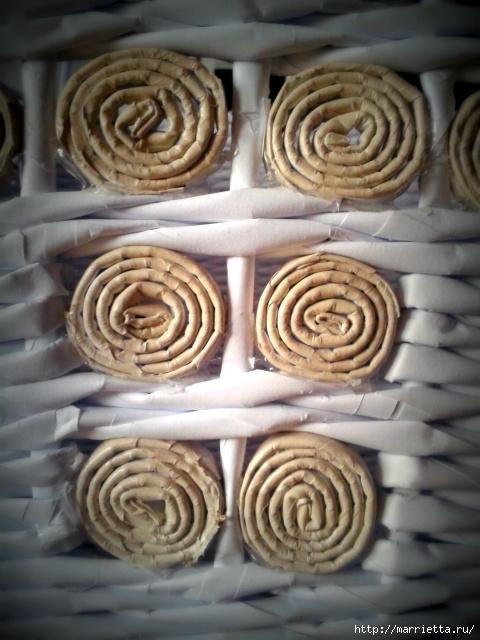 Плетение из газет. Поделки из колечек и тарелка из трубочек (15) (480x640, 202Kb)
