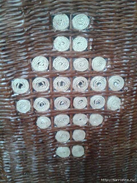 Плетение из газет. Поделки из колечек и тарелка из трубочек (17) (480x640, 236Kb)