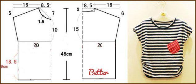 Как сшить футболку своими руками для начинающих пошагово