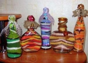 Соль в бутылках своими руками
