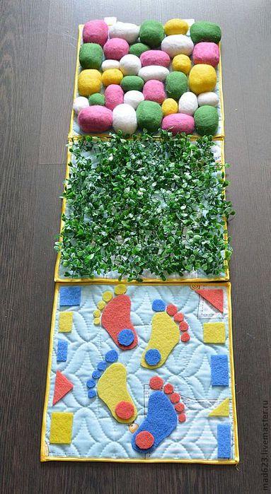 Массажный коврик для детей своими руками мастер класс фото