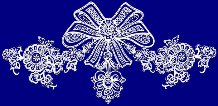 """Вышивка крестом.  Схема вышивки  """"Кружева """".  Схемы автора  """"malkinaiv """".  Предпросмотр.  Вышивая, положите на колени..."""