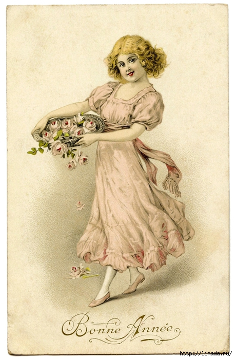 Girl-Roses-Vintage-Graphic-GraphicsFairy (458x700, 262Kb)