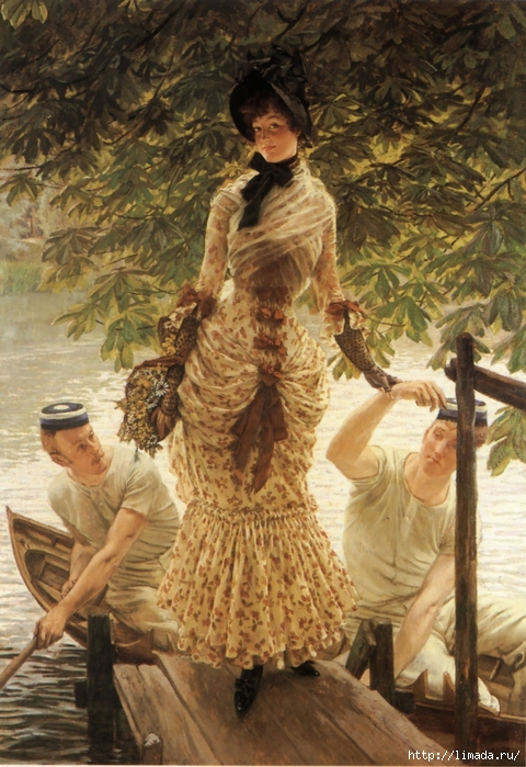 James_Tissot_-_On_the_Thames (480x700, 314Kb)