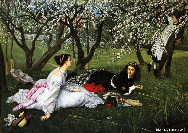 spring James Tissot (635x449, 256Kb)