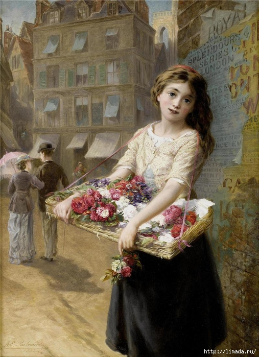 Augustus Edwin Mulready 1844-1904 (507x700, 292Kb)