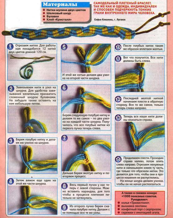 Как плести на крючке из шерстяных ниток