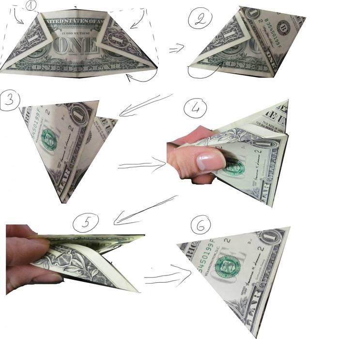 Чтобы свернуть доллар