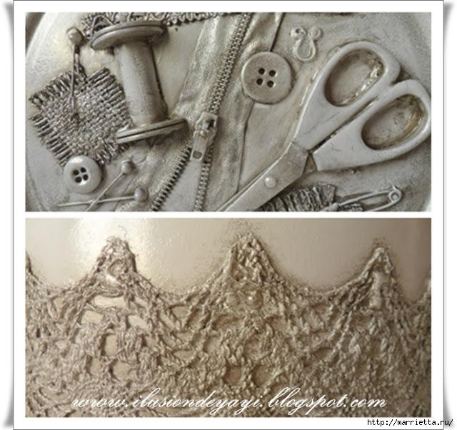 Швейный стимпанк) Декор шкатулки швейными принадлежностями. Мастер-класс (3) (640x603, 240Kb)