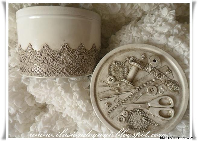 Швейный стимпанк) Декор шкатулки швейными принадлежностями. Мастер-класс (5) (656x468, 247Kb)