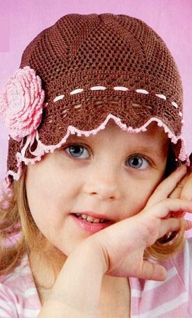 шапочка для ребенка 4 лет