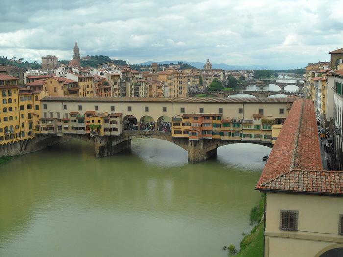 Флоренция золотой мост (700x525, 116Kb)