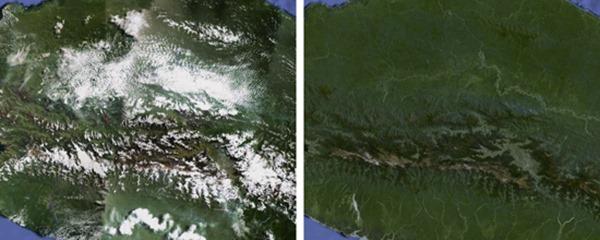Карты Google без облаков