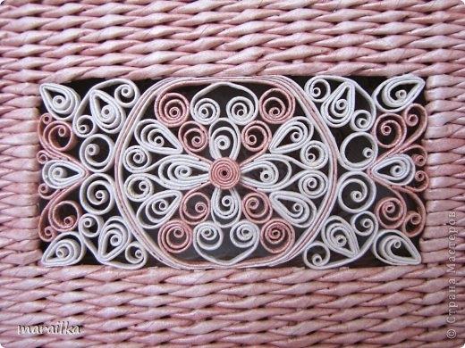 Плетенки из газет с элементами квиллинга. Мастер-класс (12) (520x390, 178Kb)