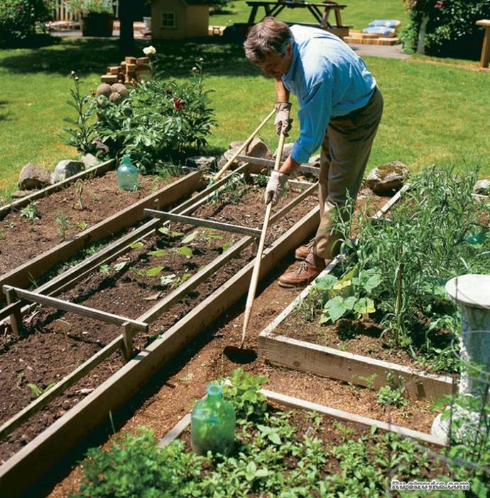 Как оформить садовый участок своими руками