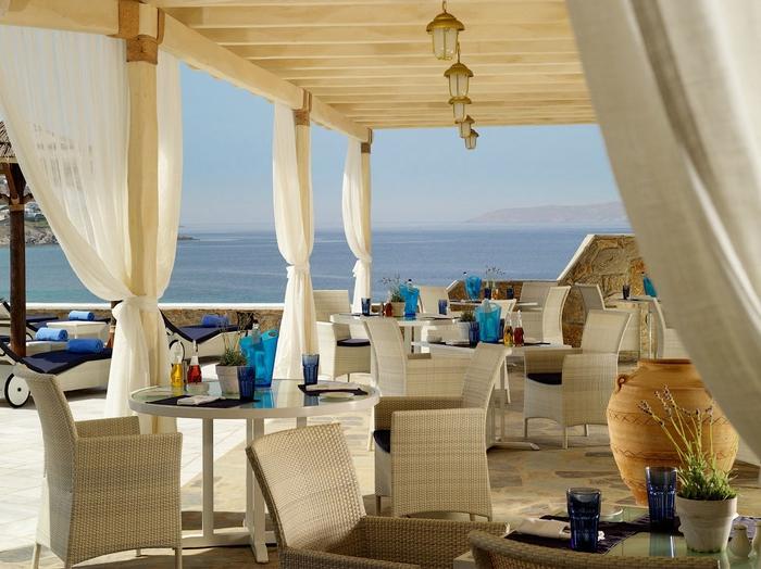 пятизвездочный отель на острове миконос греция