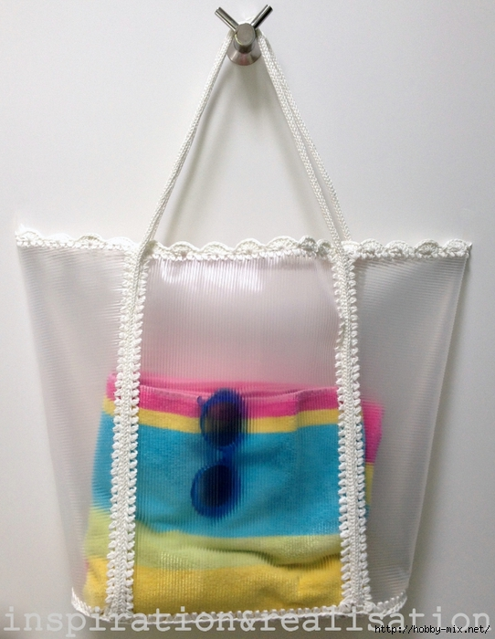inspiration&realisation_diy_tutorial_clear_dolce_gabbana_beach_bag_crochet_edges (542x700, 252Kb)