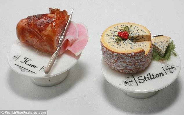миниатюрная еда из полимерной глины 6 (634x397, 104Kb)