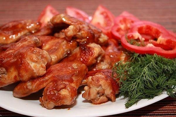 пряные куриные крылышки (550x380, 238Kb)