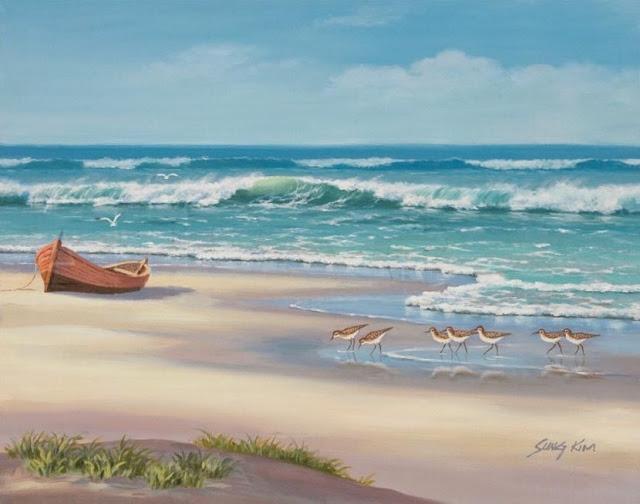 Райское наслаждение от Sung Kim 1940 - South Korea. ПЕЙЗАЖИ (14) (640x504, 160Kb)