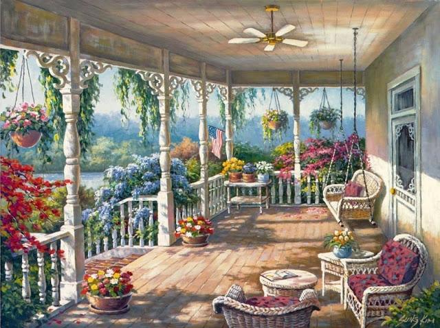 Райское наслаждение от Sung Kim 1940 - South Korea. ПЕЙЗАЖИ (26) (640x478, 305Kb)