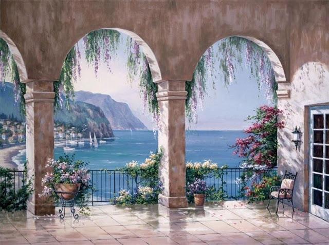 Райское наслаждение от Sung Kim 1940 - South Korea. ПЕЙЗАЖИ (38) (640x477, 238Kb)