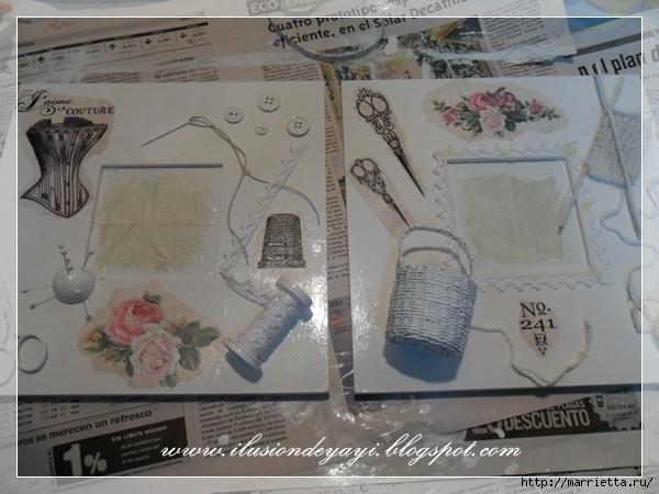 Декорирование рамочки в технике швейного стимпанка (16) (600x450, 208Kb)