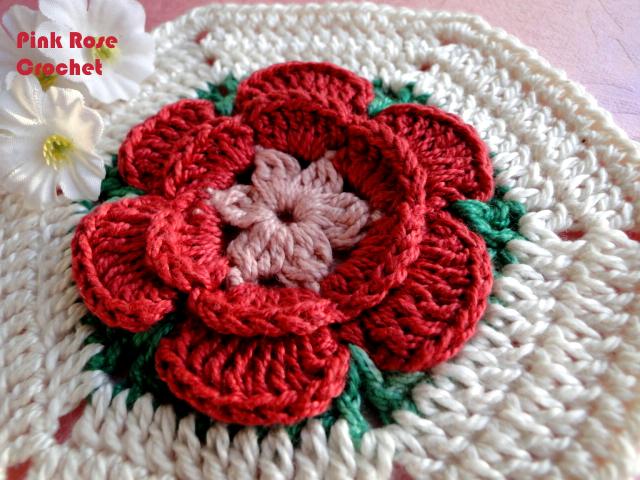 钩针:针织毛毯和床罩的模式