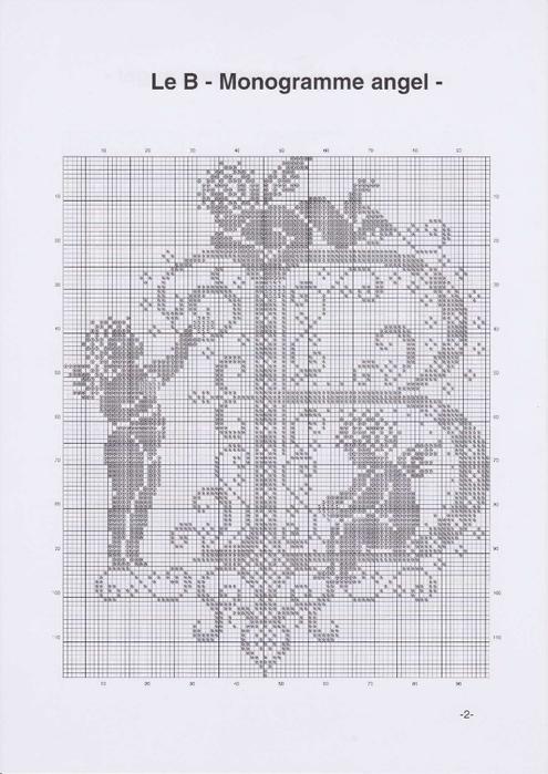 Вышиваем крестиком. МОНОГРАММЫ С АНГЕЛАМИ (5) (495x700, 201Kb)