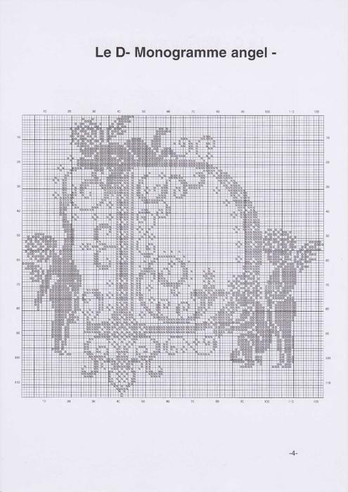 Вышиваем крестиком. МОНОГРАММЫ С АНГЕЛАМИ (7) (495x700, 183Kb)