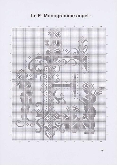 Вышиваем крестиком. МОНОГРАММЫ С АНГЕЛАМИ (9) (495x700, 205Kb)
