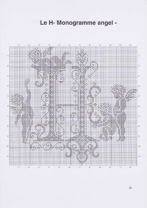 Вышиваем крестиком. МОНОГРАММЫ С АНГЕЛАМИ (11) (495x700, 177Kb)