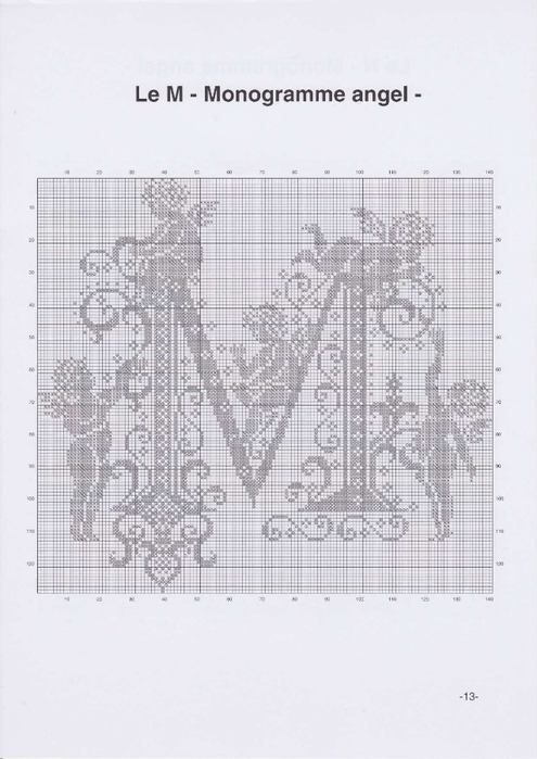 Вышиваем крестиком. МОНОГРАММЫ С АНГЕЛАМИ (16) (495x700, 187Kb)
