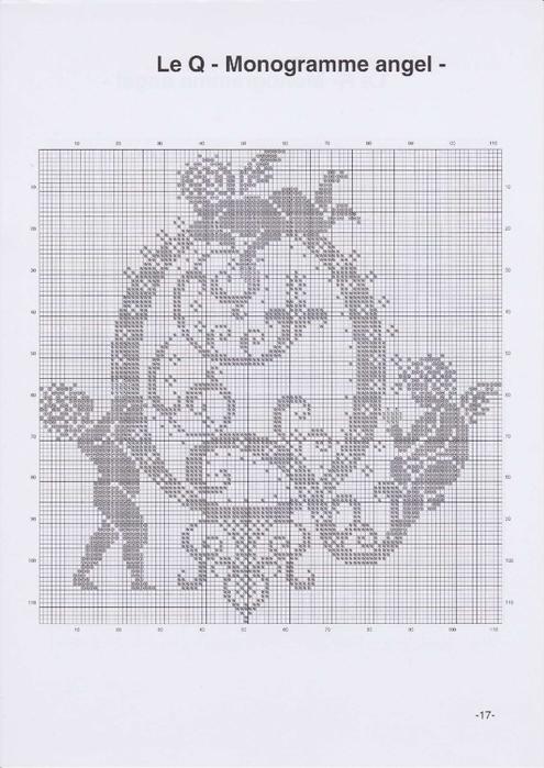 Вышиваем крестиком. МОНОГРАММЫ С АНГЕЛАМИ (20) (495x700, 198Kb)