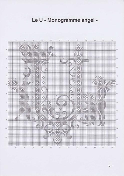 Вышиваем крестиком. МОНОГРАММЫ С АНГЕЛАМИ (24) (495x700, 199Kb)