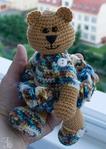 Медведь - вязаные игрушки от Поповой Е.И.