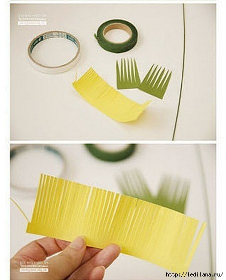 Гиацинты из бумаги3 (450x556, 103Kb)