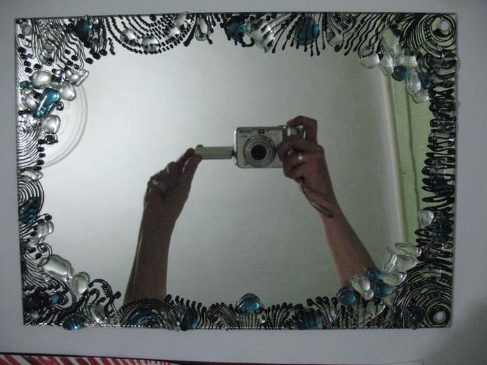 Как сделать зеркало из стекла своими руками видео