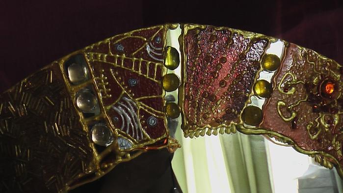 Декор зеркала своими руками фото - Поделки