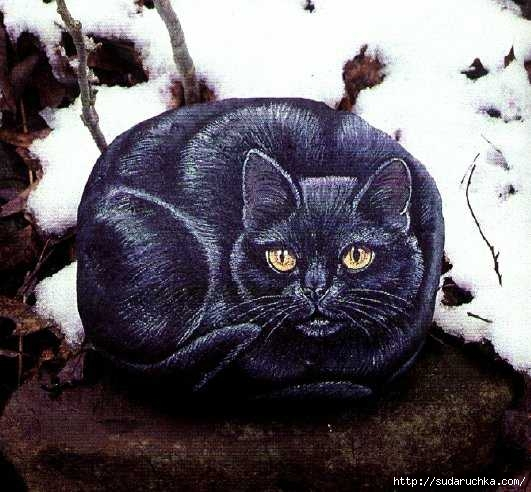 painting pets on rocks table 60 (531x492, 151Kb)