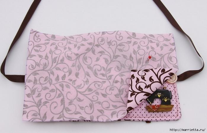 Книжечка - органайзер для швейных принадлежностей. Шьем сами (6) (700x451, 191Kb)