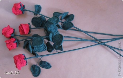 How to tie a rose hook.  Master Class (5) (520x331, 79Kb)