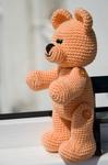 интерьерная игрушка медведь