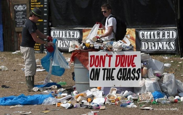 Что там Гластонбери, мусорка куда интереснее будет!