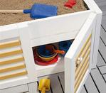 И тогда детская песочница своими руками на балконе может.
