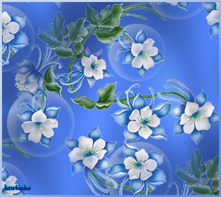 Голубые-цветы (450x402, 346Kb)