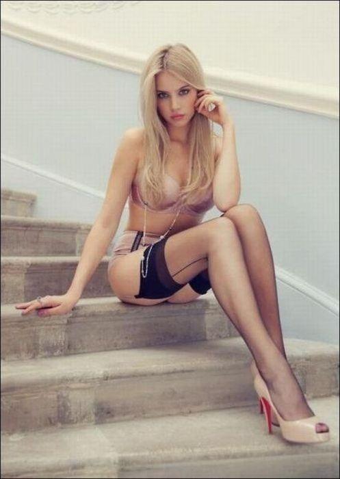 Убийственное сочетание: красивые девушки в красивом белье