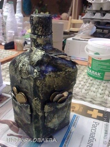 применение гипсового бинта для декоирования бутылки (18) (360x480, 113Kb)