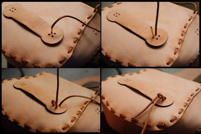 Как сшить сумочку из натуральной кожи. Фото мастер-класс и шаблон (1) (700x466, 203Kb)