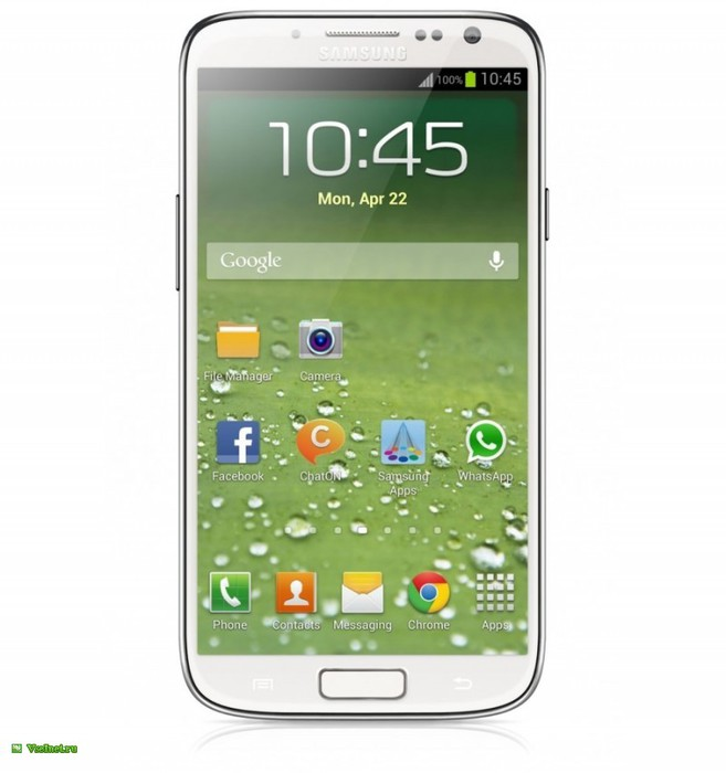Коммуникатор моноблок Samsung Galaxy S IV GT-I9505 белый (657x700, 58Kb)